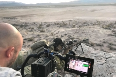 Reece Dewar testing Force Ordnance's rifles and scopes