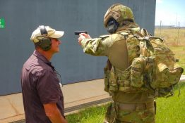 Kinetic Fighting Australia - Australian Military Weapons Training with Paul Cale Banner