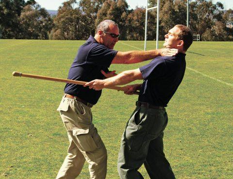 Hunting Posture - Neck Strike Demonstration