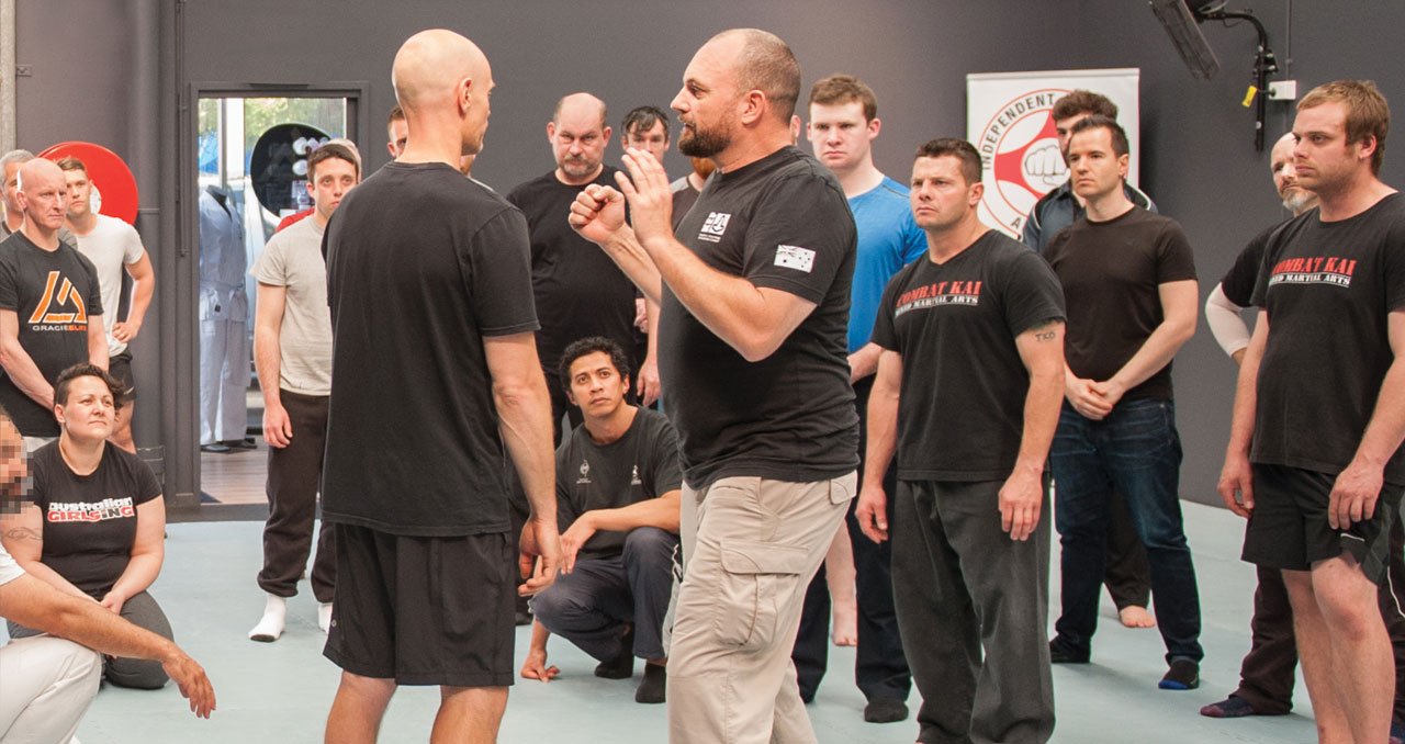 Personal Combatives KEF-IC Training