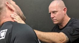 Combatives Master Trainer Geordie Lavers-McBain