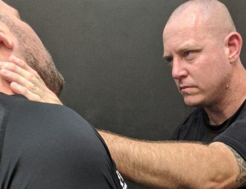 Combatives Master Trainer Geordie Lavers-McBain