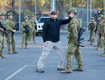 Australian Army Combatives Program (Integrated Combat) taught by Paul Cale