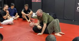 Paul Cale teaching Kinetic Fighting, Sydney 2020