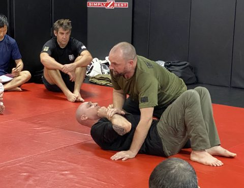 Paul Cale teaching Kinetic Fighting, Sydney 2020