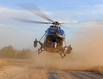 Airbus H145M battlefield support helicopter