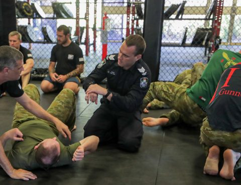 Australian Army Combatives program: Kinetic Fighting grappling training