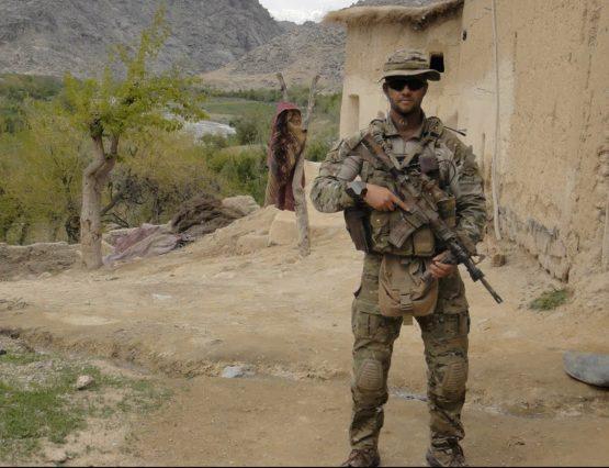 Australian Commando SGT Brett Wood MG DSM